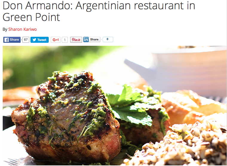 Don Armando: Argentinian restaurant in Green Point